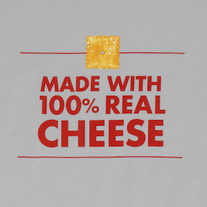 I wasn't sure why advertising claims about cheese frantically insisted that the cheese was nothing but cheese, until I learned how many mass produced cheeses are mostly cellulose.