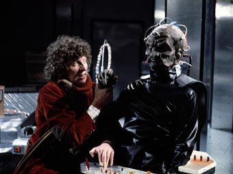The Doctor and Davros.
