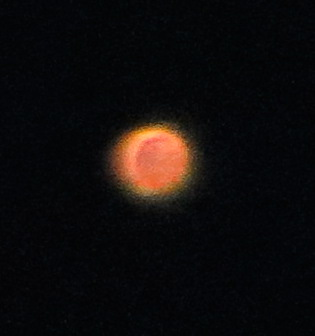 Mars photo taken with a point and shoot camera.