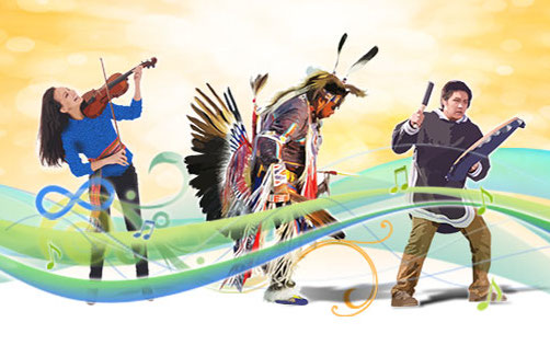 2018 federal government theme image for national aboriginal day, now rebranded national Indigenous peoples day.
