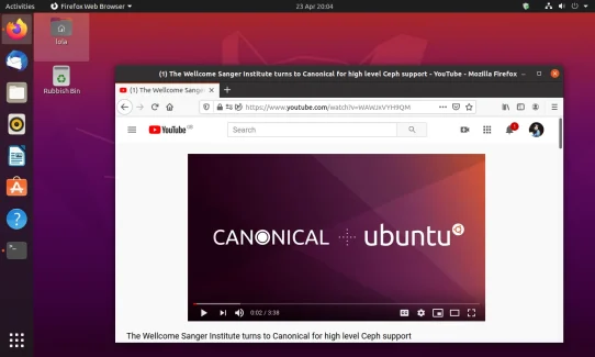 Screenshot of one of a feature image for Ubuntu from ubuntu.com.